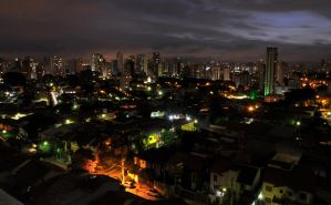 Sao Paulo at Night by Sofiwick