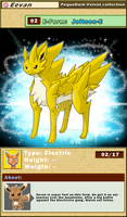 DATA: E-02 .:JOLTEON-E:. by PEQUEDARK-VELVET