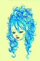 miss curly hair by asiababy
