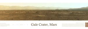 Gale Crater Landscape by cow41087