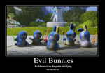 Evil Bunnies by FadingStarlights