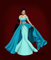 Jasmine - Disney Designer Princesses by Katifisen