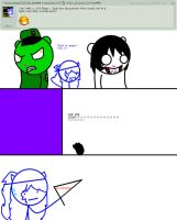 Question 37# Jeff vs Fliqpy by Ask-Cat-and-OCs
