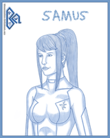 Samus 06212010 by BLUEamnesiac