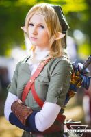 TLoZ - female Link #3 by NanaKuronoma