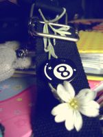 Eightball And Flower by Autopsyh