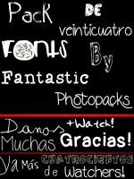 +Packs de Fonts. by FantasticPhotopacks