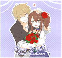 Happy b.day Luca Madison! by irask