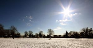 sunny winter day. by theycome