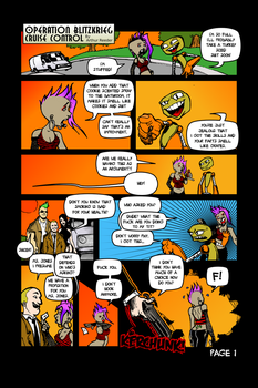 Page One Full Color by arthurreeder