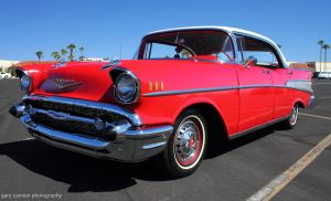 Chevy Belair - red by worldtravel04