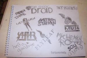 Band Logos by Magzzz-McD