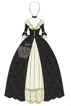 Historical Inspired Costume Adoptable $4[pricecut] by applestruddles