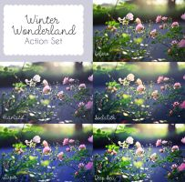 Winter Wonderland Action Set by sabinefischer