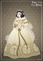 SnowWhite - Disney Wedding Princess designer by GFantasy92