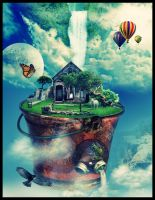 bucket world by posters0809