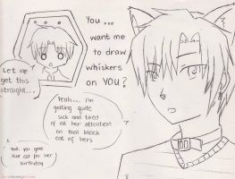 Day 6: The Notorious Black Cat... Natsume Hyuuga? by aprilrainmayblossom