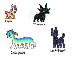 chibi weirdies NAME YOUR PRICE adoptables ~CLOSED~ by BREL00M