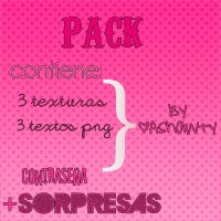 PACK de Texturas y Textos PNG:) by AShawty