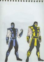 Sub Zero - Scorpion by GP-Gopher