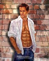 Ryan Reynolds... Art Work by arihoff