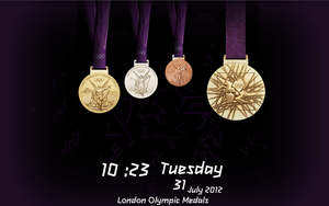 London Olympic Medals by Kerochris