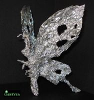 Foil Butterfly by Xiakeyra