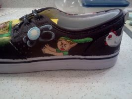 The Legend of Zelda Shoes of Time 04 by jjsshoesxd