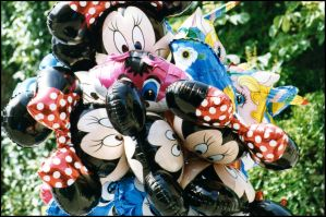 Ballons Mickey by didiero