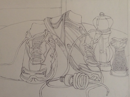 Continuous Line Shoes by EternallyMJ