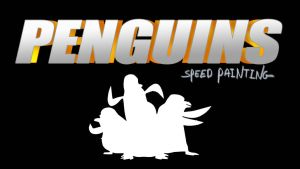 THE PENGUINS (of Madagascar) thumbnail/title card by IDROIDMONKEY
