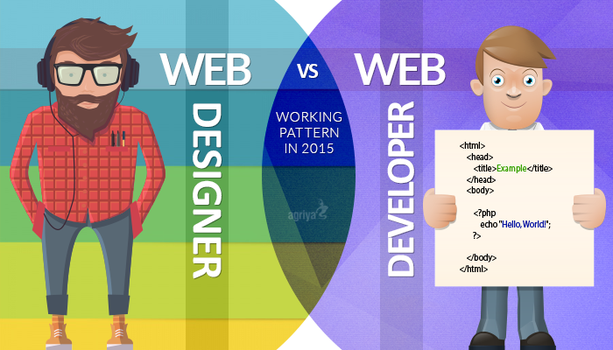 Web Designer V/S Web Developer in 2015 by jameswilliam723