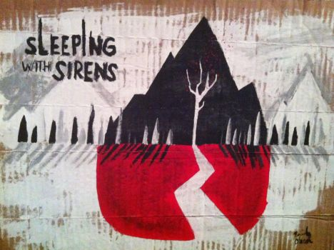 Sleeping with Sirens by dutchesflo