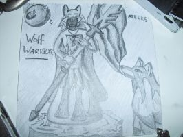 Wolf Warrior by ateck5