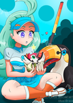 Kahili And Toucannon : Shiny Pikipek Hatched by EixelPlayer