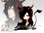 Demon 01 Adopt Auction -CLOSED!- by Noreth-Adopts