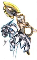 Strength x White Heart - Switch! by Men-dont-scream