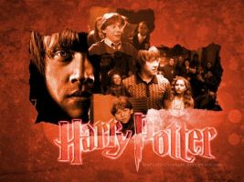 Harry Potter-RON-Wallpaper by GrafixGirlIreland