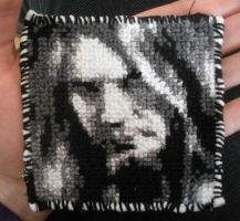 Marco Hietala cross stitch by Elise-Lucy