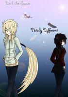 -''Identical but Different''- by XXXXwitlee