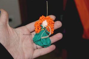 Merida the brave by NinaFimoCreations