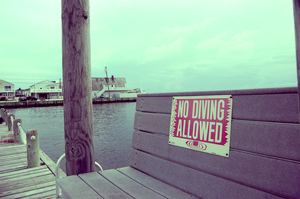No Diving Allowed. by xxzimmer483xx