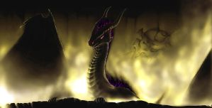 Shadow dragon by Niassamia