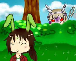 AoH: Beware the bunny catcher by yueppi