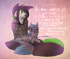 No Matter What :remake: by whitewolfspup