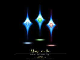 3 Magic Spells by john1315
