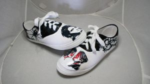 My Chemical Romance shoes by RJG-photos
