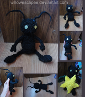 Crochet Shadow Heartless by WillowEscapee