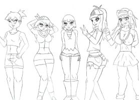 Pokemon girls- Body analysis by babermirza