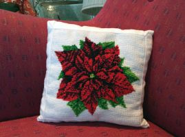 Christmas gift -Pillow- by elen89